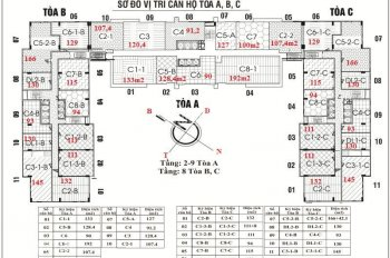 Bán căn hộ Golden Land, 275 Nguyễn Trãi: nhiều căn, số lượng lớn, giá bán rẻ. SĐT: 0932.338834
