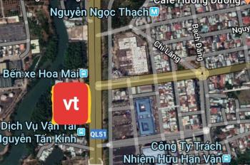 Cần bán đất TMDV mặt tiền đường Quốc Lộ 51 đối diện cổng TP. Bà Rịa