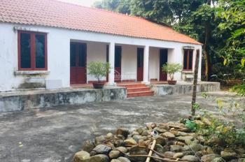 Chuyển nhượng khuôn viên nhà vườn nghỉ dưỡng tại Phú Mãn, Quốc Oai, HN. Giá 2,3 triệu/m2