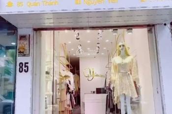 Sang nhượng cửa hàng shop quần áo thời trang 85 Quán Thánh, Ba Đình, Hà Nội