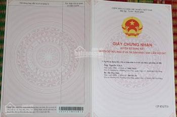 Cần bán lô đất mặt tiền đường Nguyễn Xuân Hữu, phường Hòa Thọ Đông, quận Cẩm Lệ