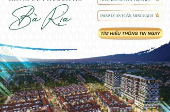 Thông tin chính thức KDC BARIA RESIDENCE ngay TP. Bà Rịa. Nhận ngay ƯU ĐÃI LỚN. Hotline: 0907865679