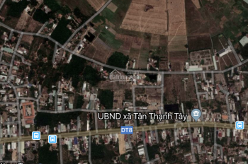 Bán đất khu dân cư Tân Quy Town mặt tiền đường Tỉnh Lộ 8, Củ Chi giá chỉ 920tr nền, sổ hồng riêng