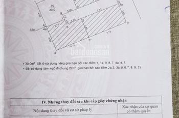 CC bán nhà 4T ngõ 68 Triều Khúc, DT: 30m2, ô tô cách 10m, đủ nội thất, giá 2.55 tỷ. LH 0903409727