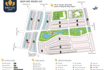 Chính chủ, bán nhanh lô L - 15 dự án Bảo Lộc Capital, đối diện bến xe Đức Long. Giá 870 triệu