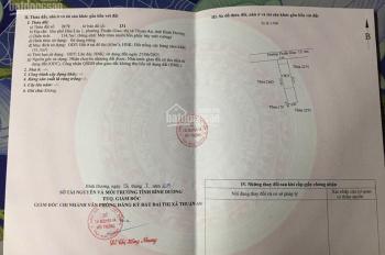 Cần bán gấp 1 lô đất chính chủ ngay MT Thuận Giao 15,SHR,115m2/ 850tr.SDT: 0961263904