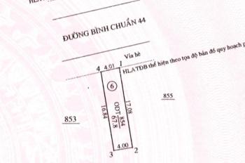 Bán gấp lô đất MT đường Bình Chuẩn 44 Thuận An Bình Dương, SHR, giá 1tỷ450Tr/68m2 lh:0931868313