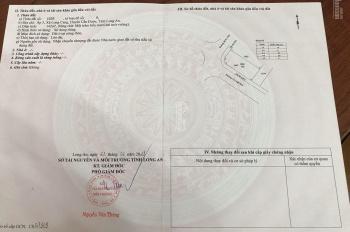 Chính chủ bán đất mặt tiền Nguyễn Trung Trực, DT 142m2 lô góc 2 mặt tiền, có sổ thật, đất thật