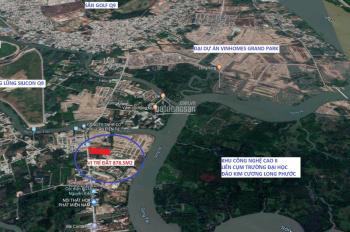 Cần bán gấp đất mặt tiền đường Nguyễn Xiển, kề bên siêu đô Thị Vinhomes Grand Park Quận 9