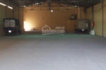 Cho thuê kho xưởng đường Tô Ngọc Vân, Thạnh Xuân Q12, DT 1000m2/ 45 tr/th, 0981213799