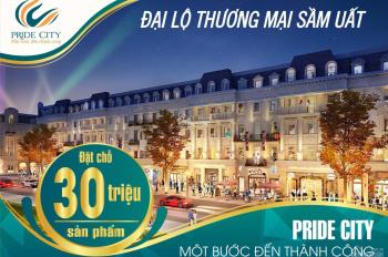 Chính thức ra mắt dự án Pride City, chiết khấu lên đến 5%