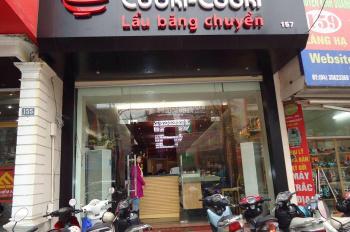 Cho thuê cửa hàng ngõ 171 Thái Hà, 62m2, MT4m, giá: 16tr. Khu Văn phòng rất đông đúc.