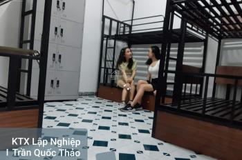 Phòng trọ KTX cao cấp giá rẻ 1 Trần Quốc Thảo, Quận 3 giáp Quận 1. Free điện nước full nội thất