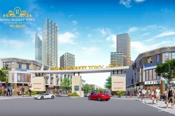 Bán đất Royal Market Town ngã 4 Liên Huyện-Phan Đình Giót, Thuận An BD, 900 triệu/nền, SHR, TC 100%