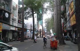 Cho thuê gấp nc mặt tiền Yersin, Phường Nguyễn Thái Bình Quận 1. 8mx20m 3 lầu giá 100 triệu/th