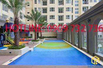 Cho thuê Officetel Sài Gòn Mia 40m2, 1PN, giá 10tr/tháng, bàn giao mới 100%. LH: 0909 732 736