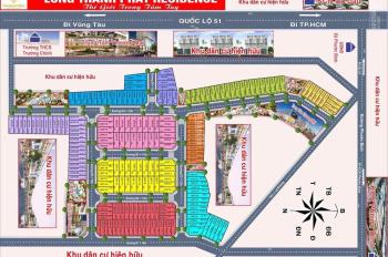 Bán dự án đất nền Long Thành đầu tư tốt chỉ hơn 700 triệu/nền, LH: 0911226672