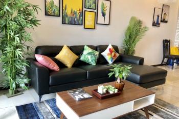 Cho thuê căn hộ 3PN Cosmo City thiết kế chuẩn Châu Âu, view Bitexco nhà mới 0909106525