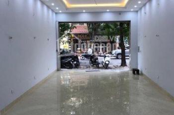 Cho thuê nhà mặt phố Nguyễn Khuyến, DT 80m2, MT 5.2m. Nhà thông sàn, mới xây, LH Hiếu 0974739378