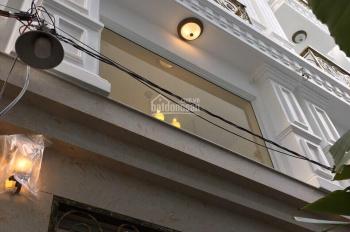 Hình nhà thật! Bán nhà mới tuyệt đẹp 247 Hoàng Hoa Thám, P5.DT 3,8m x10m ,4 tầng. LH 0938.655.365