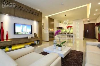 Cho thuê căn hộ 107 Trương Định, 90m2, 2pn, giá 17tr. LH Vũ 0909.588.313