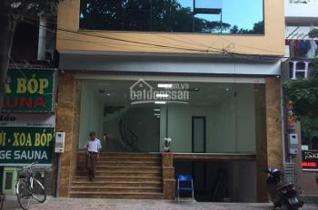 Cho thuê nhà mặt phố 13N7A Nguyễn Thị Thập, Cầu Giấy 90m2 (thông sàn, thang máy đẹp) spa, văn phòng