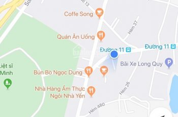 Bán khách sạn 5 tầng mặt tiền đường 11, Hoàng Hữu Nam, P. Long Bình, Quận 9, 380m2, 35 tỷ