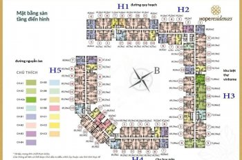 Bán gấp suất phân CC Hope Residences,Phúc Đồng LB,căn 1210,DT 69,19m2,giá 1.23tỷ.0936104216