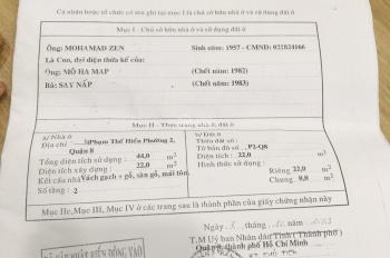 Cần Bán Gấp Nhà Hẻm 28 Dương Bá Trạc Phường 2 Quận 8. Giá 2 Tỷ 3 ( TL Mạnh )
