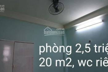 Phòng trọ cho thuê giá rẻ Quang Trung p14 Gò Vấp