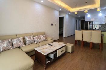 Cho thuê căn hộ chung cư cao cấp 3 phòng ngủ, 2WC, đủ đồ. LH 0904185709
