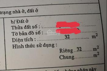 Chính chủ bán nhà hẻm xe hơi 22/11 Tân Hóa 32m2 CN