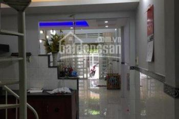 Cho thuê nhà đẹp 8/30 đường Số 16. P. BHH, Bình Tân. 4x19m, 1 trệt, 1 lầu, 3PN 2 máy lạnh