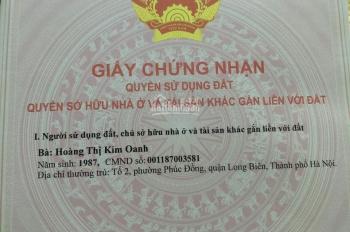 Bán đất ngõ 42 phố Sài Đồng cho nhà đầu tư chia lô, xây biệt thự. DT: 142m2 giá 42 triệu/m2