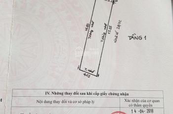 Cần Bán nhanh lô đất HXH 4x19 hẽm 656// quang trung phường 11 gò vấp 4ty690 BL