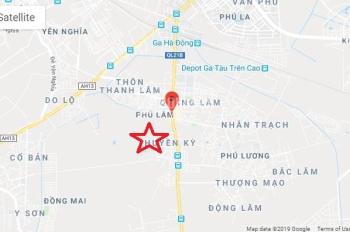 Bán đất thổ cư chính chủ tại Phú Lãm, Hà Đông diện tích 61m2 mặt tiền 5m liên hệ 0985152698.