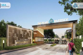 Chỉ từ 2,3 tỷ sở hữu Nhà phố The Pearl Riverside 1 trệt 2 lầu ngay tại trung tâm Bến Lức,0968052720