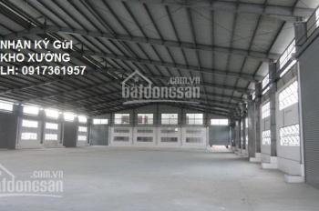 Cho thuê kho xưởng hoặc bãi xe 5000m2 quận Bình Tân giá 120 triệu/tháng
