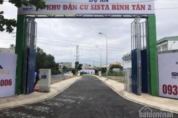 Kẹt tiền bán gấp 5 lô đất KDC Sista Võ Văn Kiệt, Bình Tân. Giá 2,25 tỷ /80m2 SHR, Hương 0934535700