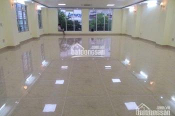 Cho thuê văn phòng mặt phố Lê Văn Lương, DT 150m2 giá rẻ nhất Hà Nội, tòa nhà 8 tầng, thông sàn