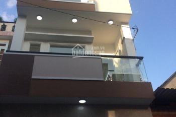 Cho thuê gấp nhà mặt tiền giá rẻ đường Âu Cơ, DT: 4.2x26m, 1 trệt, 3 lầu, sân thượng nhà mới đẹp