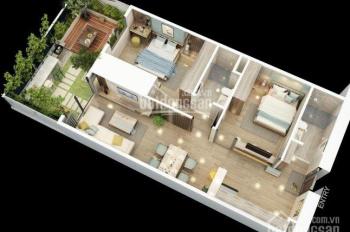 Bán căn 2 ngủ 61m2 giá 1.4 tỷ, ngân hàng Vietcombank hỗ trợ ls 0% / 2 năm, LH 0387 80 7070