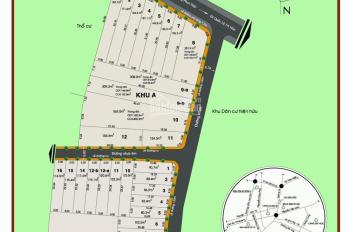 Bán đất MT đường Hoàng Phan Thái cách chợ Bình Chánh 400m, sổ đỏ từng nền, DT 142,8m2, giá 3,7 tỷ