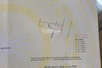 Bán đất kinh doanh  mặt phố Ngô Xuân Quảng-Trâu Qùy-Gia Lâm-HN.LH 0971100822