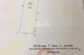 Bán đất khu kinh doanh sầm uất đường T-Trâu Qùy-Gia Lâm.LH 0971100822