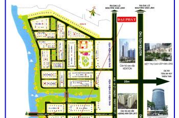 Bán đất dự án sasdeco phước kiển A nhà bè  giá chỉ 5 tỷ 700 triệu lô đường 16m