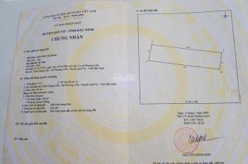 Bán đất giãn dân Giang Liễu, Phương Liễu, Quế Võ, sổ đỏ chính chủ, 100m2 giá đầu tư LH: 0988889956