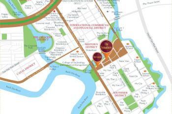 Chính chủ cho thuê shop Midtown - The Symphony. LH: 0908171357
