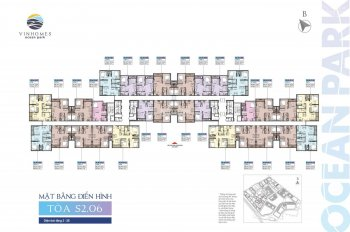 Bán gấp căn hộ 3 phòng ngủ tòa S2.06 - Vinhomes Ocean Park, giá chỉ 2.15 tỷ