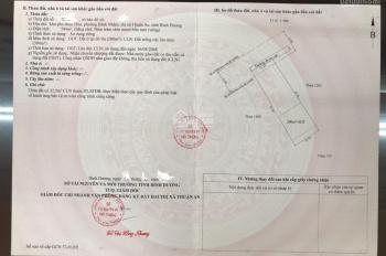 Bán đất Bình Nhâm 30 - 594m2 (14x44) đường bê tông hiện tại 5m, gần nhà Việt Trinh